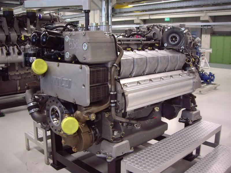mtu engines quality engineering only expected from the germans rh ybw com Yanmar Marine Diesel Engines Duramax Marine Diesel Engine